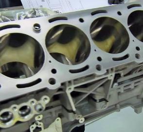 Как делают двигатель Mercedes-Benz AMG 63 V8