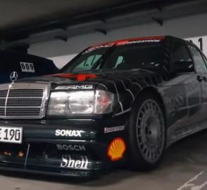 Как звучит редчайший Mercedes-Benz 190E 2.5-16 Evolution II