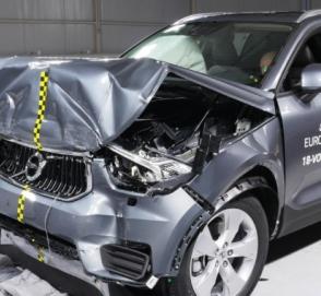 Новый Volvo XC40 и Ford Focus прошли краш-тест