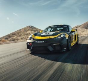 Porsche показал спорткар с кузовными деталями из биоволокна