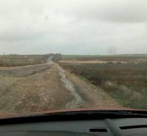 «55 километров за 2,5 часа»: в Сети показали еще одну «адскую» дорогу