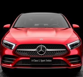 Mercedes-Benz полностью рассекретил удлиненный седан A-Class