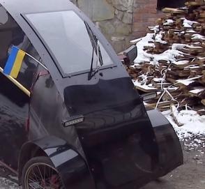 В Украине появился электромобиль за 40 тысяч гривен