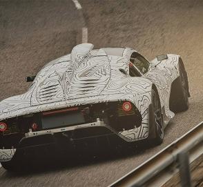 Mercedes приступил к дорожным тестам 1000-сильного гиперкара