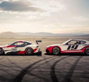 Новая гоночная Toyota Supra дебютирует в Токио
