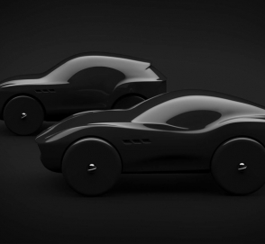 Автомобили Maserati «превратились» в деревянные машинки
