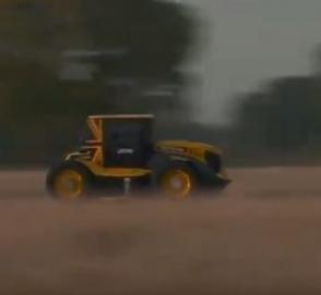 Установлен мировой рекорд скорости на тракторе