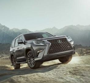 Lexus представил обновленный GX