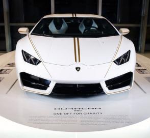 Lamborghini Huracan Папы Римского разыграют в лотерею