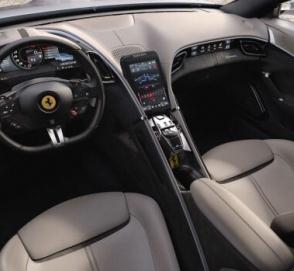 Ferrari показала новый спорткар без дверных ручек