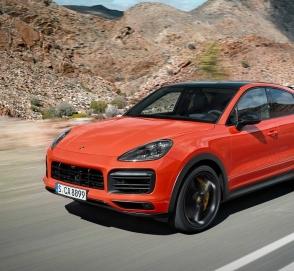 Porsche Cayenne Coupe Hybrid появится в 2019 году
