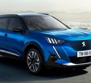 Peugeot выводит на рынок новое поколение кроссовера 2008