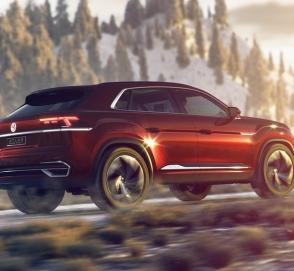 Кросс-купе Volkswagen Terramont готовится к дебюту