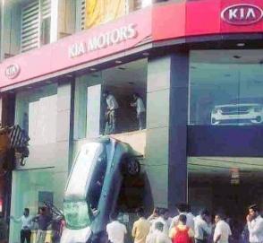Kia Seltos прошел случайный вертикальный краш-тест