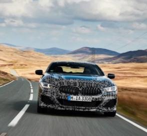 BMW продемонстрировала «двухдверку» 8 Series M850i в динамике