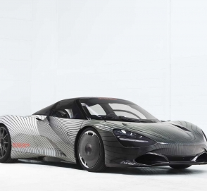Тестовый McLaren Speedtail загорелся на испытаниях