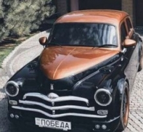Украинец построил автомобиль мечты из ГАЗ М-20 «Победа» и BMW