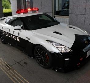 Японская полиция получила патрульный Nissan GT-R