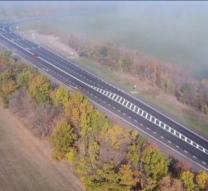 В Сети показали видео с украинской трассы после капитального ремонта