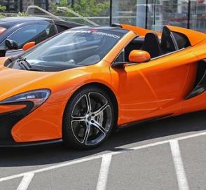 Украинец расцарапал суперкар McLaren «для красоты»