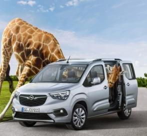 Opel представил «офранцуженный» фургон Combo Life