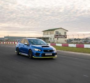 Subaru презентовала самую мощную серийную WRX STI