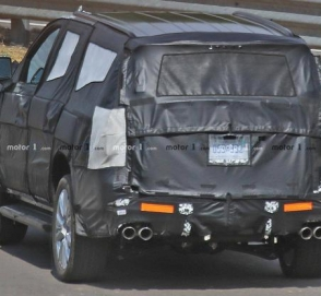 Новый Chevrolet Tahoe впервые замечен на тестах