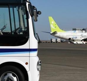 Токийский аэропорт начал испытания беспилотного автобуса