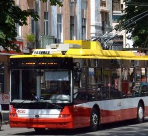 Троллейбусы начнут «сообщать» полиции о нарушениях ПДД
