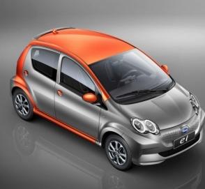 Китайцы представили электрическую копию Toyota Aygo