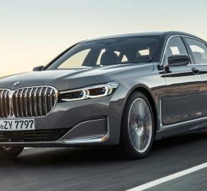 Покупателям понравилась гигантская решётка радиатора BMW 7 Series