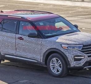 Появились фото и подробности о новом Ford Explorer