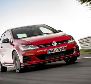 Volkswagen запустил в серию 290-сильный Golf в стиле гоночного автомобиля