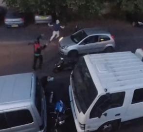 Автомобилист предотвратил кражу мотоцикла