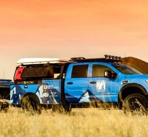 Nissan подготовил Titan для работы в Гранд-Каньоне