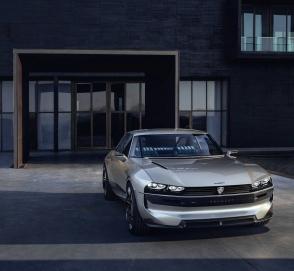 Peugeot выкатит в Париже нескучное купе будущего