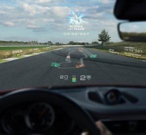 Porsche предложит своим клиентам опцию дополнительной реальности в автомобиле