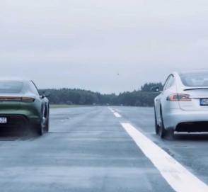 «Как тебе такое, Илон?»: электрическая новинка Porsche «заткнула за пояс» Tesla