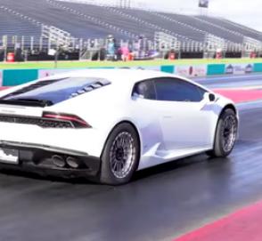 Lamborghini Huracan «сделал» 400 метров за 7 секунд