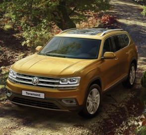 Комплектации кроссовера VW Teramont стали богаче