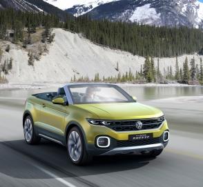 Volkswagen анонсировал премьеру кроссовера T-Cross
