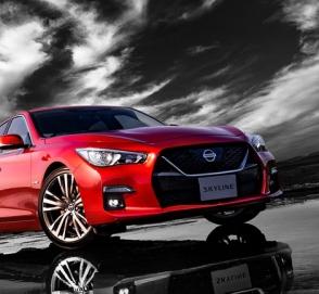 Nissan представил обновленный седан Skyline