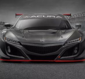 Acura обновила гоночный NSX