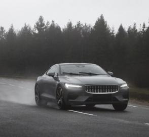 Polestar показал, как тестирует прототипы гибридного купе 1