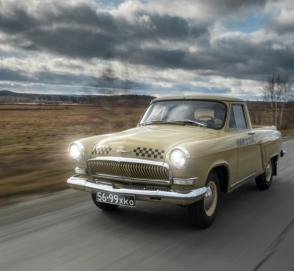 Как выглядит уникальный пикап «Волга» украинского производства