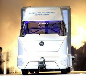 Китайцы приступили к испытаниям «грузовика будущего»