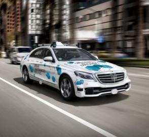 Daimler и Bosch готовятся к запуску беспилотного такси в Калифорнии