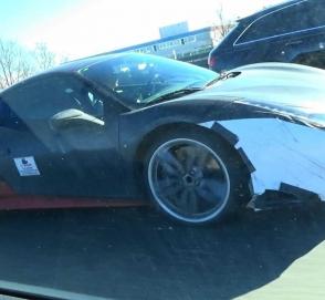 Гибридный суперкар Ferrari может получить сразу 4 двигателя
