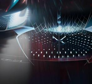 DS представил ассиметричный суперкар будущего