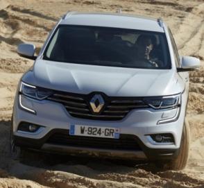 Появились первые изображения купеобразного Renault Koleos